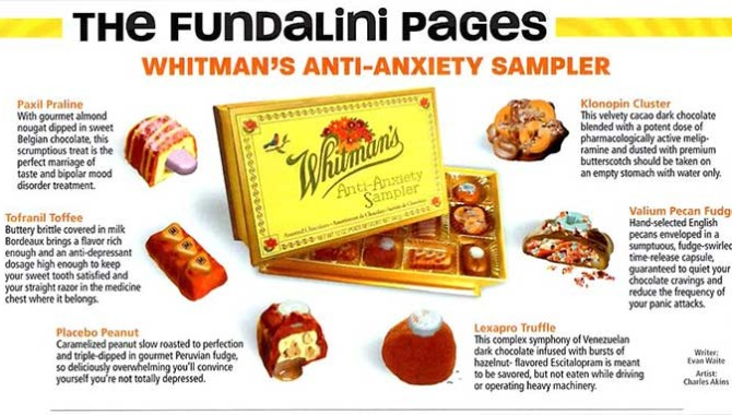 Whitman's Anti-Anxiety Sampler