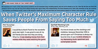 Twitter's 140 Character Rule